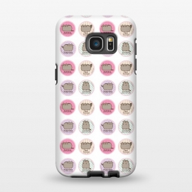 Galaxy S7 EDGE  pusheen cat by Vincent Patrick Trinidad