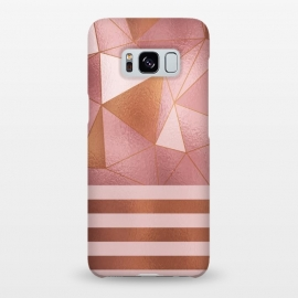 Abstract Metallic Rose Gold by Quirk It Up