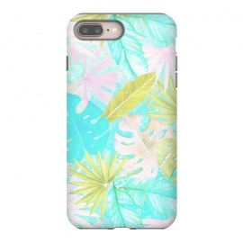 Soft Pastel Aloha Tropical Jungle by Utart