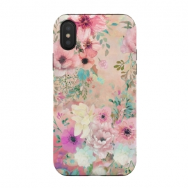 iPhone Xs / X  Botanical Fragrances in Blush Cloud II by ''CVogiatzi. (botanical, flowers, floral, rose, cv, cvogiatzi, happy, colors, top, best, cool, style,  elegant, chic, fresh, popular, trend, glam, pink, blue, nature, blush, blossom, bloom, decor, flower, cloud)
