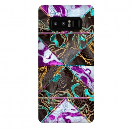 Galaxy Note 8  Geometric XXVI by Art Design Works