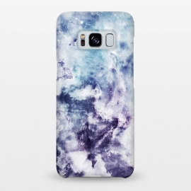 Galaxy S8+  Blue purple marble by Jms