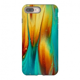 iPhone 8/7 plus  Colorful Ink Marble by Utart