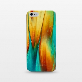iPhone 5/5E/5s  Colorful Ink Marble by Utart