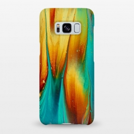 Galaxy S8+  Colorful Ink Marble by Utart
