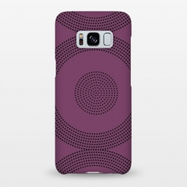 Galaxy S8+   Dotted Circles Purple by ArtPrInk