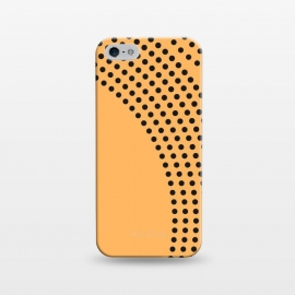 iPhone 5/5E/5s   Dotted Circles Yellow Mango by ArtPrInk
