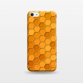 iPhone 5C  Hexagonal Honeycomb Pattern by Quirk It Up
