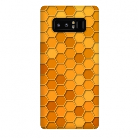 Galaxy Note 8  Hexagonal Honeycomb Pattern by Quirk It Up