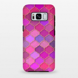 Galaxy S8+  Moroccan Tiles Pattern by Quirk It Up