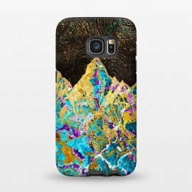 Galaxy S7  Digital Painting - Mountain Illustration I by Art Design Works