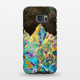 Galaxy S7 EDGE  Digital Painting - Mountain Illustration I by Art Design Works