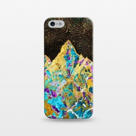iPhone 5/5E/5s  Digital Painting - Mountain Illustration I by