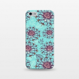 iPhone 5/5E/5s  Floral Garden  by Rose Halsey
