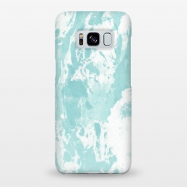 Galaxy S8+  Mint blue abstract by Jms