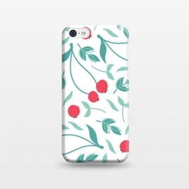 iPhone 5C  Sweet Red Cherries by ArtPrInk