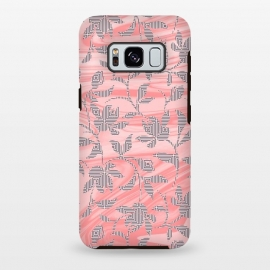 Galaxy S8 plus  Marbled floral by