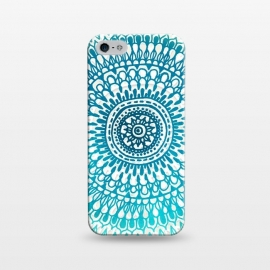iPhone 5/5E/5s  Emerald Ocean Mandala by