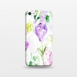 iPhone 5C  Watercolor Flora by Creativeaxle