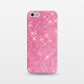 iPhone 5/5E/5s  Pink Glitter by Alemi