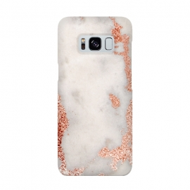 Galaxy S8  Gold Rose Marble by Alemi