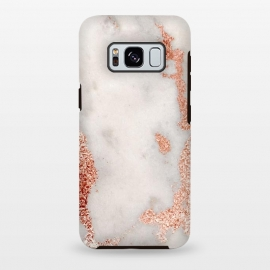 Galaxy S8+  Gold Rose Marble by Alemi