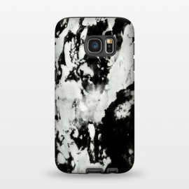 Galaxy S7  White black marble by Jms