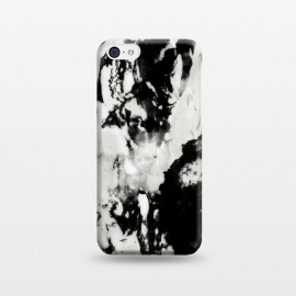 iPhone 5C  White black marble by Jms