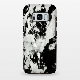 Galaxy S8 plus  White black marble by