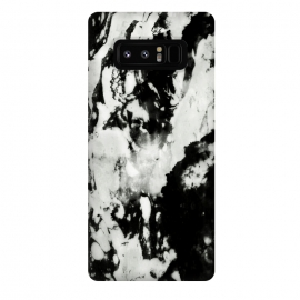 Galaxy Note 8  White black marble by Jms