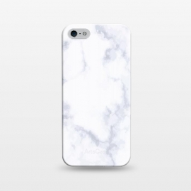 iPhone 5/5E/5s  Marble White & Gray by ArtPrInk