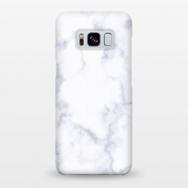 Galaxy S8+  Marble White & Gray by ArtPrInk