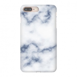 iPhone 8/7 plus  Marble White & Blue by ArtPrInk