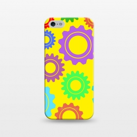 iPhone 5/5E/5s  gear pattern by MALLIKA
