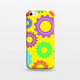 iPhone 5C  gear pattern by MALLIKA
