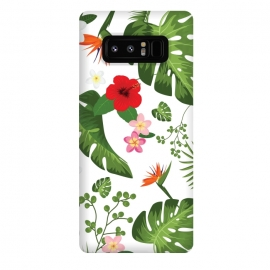 Galaxy Note 8  Tropical Flower Background by Bledi