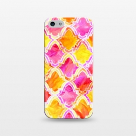 iPhone 5/5E/5s  Marrakesh Inspired Moroccan In Sunset Colors  by Tigatiga