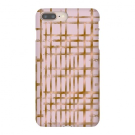 Rose gold checks by Kashmira Baheti