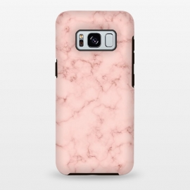 Galaxy S8 plus  Rosegold Marble by