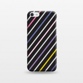 iPhone 5C  Scribble & Lines Pattern VI by Bledi