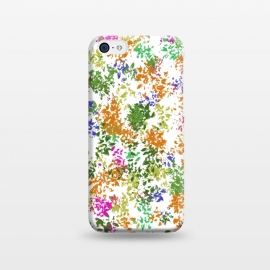 iPhone 5C  Colourful Flowers by Merveilleux Clement