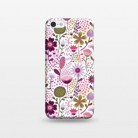 iPhone 5C  Celebration Floral by Portia Monberg