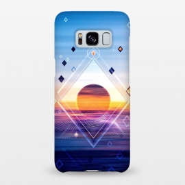Galaxy S8+  Abstract Geometric Collage II by Art Design Works