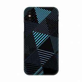 iPhone X  Triangles Pattern 3 by Bledi