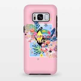 Galaxy S8 plus  Toucan Bird Tropical Vibes by
