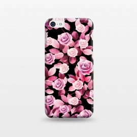iPhone 5C  Pink roses by Jms