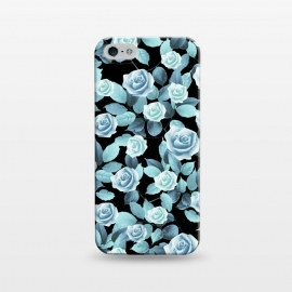 iPhone 5/5E/5s  Turquoise roses by Jms
