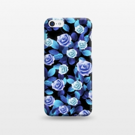 iPhone 5C  Purple roses by Jms