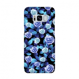 Galaxy S8  Purple roses by Jms