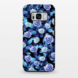 Galaxy S8+  Purple roses by Jms